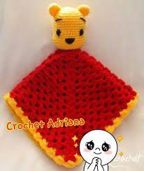 Resultado de imagen para mantita de apego a crochet