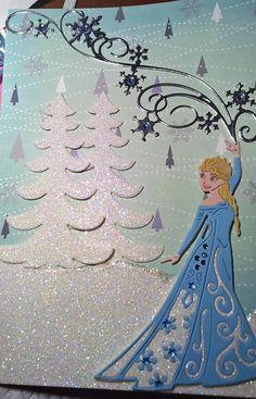 Disney Frozen card