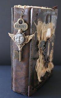 altered books at Saimba