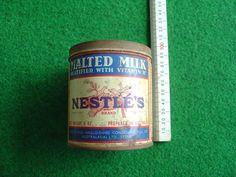 1950's Nestle's Malted milk Tin