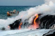 Lava Boat Tours  #pinhawaii