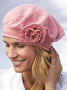 1b7e9c9b Keisha Flower Beret Parkhurst hats feel soft but are designed to be strong,  durable and