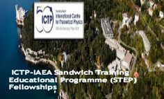ICTP-IAEA Sandwich Training Educational Programme (STEP) Fellowships, 2015 , and applications are submitted till 15 August and 15 February of each year. IAEA Department of Technical Cooperation through the IAEA Technical Cooperation Fund is offering fellowships to candidates from the IAEA member States.  - See more at: http://www.scholarshipsbar.com/ictp-iaea-sandwich-training-educational-programme.html#sthash.QE0O2sow.dpuf