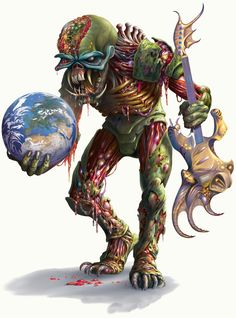 Iron Maiden- Eddie in the World Tour. Heavy Metal Bands, Iron Maiden Mascot, Evil Pictures, Eddie The Head, Sailor Jerry Tattoos, Extreme Metal, Famous Monsters, Horror Show, Monster Art