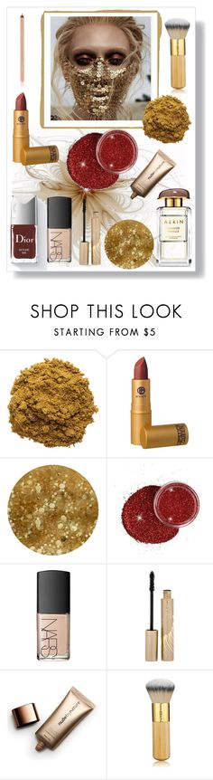 """""""Shining"""" by freida-adams ❤ liked on Polyvore featuring beauty, The Beauty Chef, Lipstick Queen, Deborah Lippmann, NARS Cosmetics, Stila, Nude by Nature and tarte"""