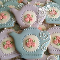 Tea party cookies
