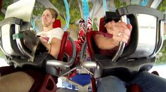 Augmented Thrill Ride Project - The very first Oculus Rift VR rides on real roller coasters. In February 2014, I approached the german rolle...