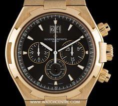 #Vacheron & Constantin 18k Rose Gold #Overseas #Chronograph #49150/000R-9338