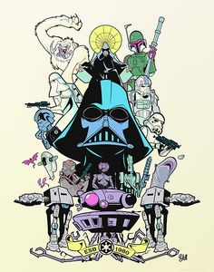 Star Wars by Sam Fout