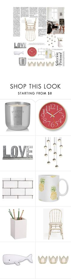 """#Homeeee"" by minimicimini ❤ liked on Polyvore featuring interior, interiors, interior design, home, home decor, interior decorating, Tom Dixon, Lemnos, Privilege and Sonneman"