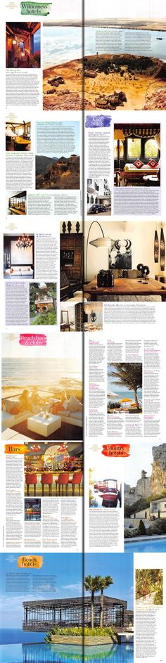 Did you catch Sunday Times Travel's Gold Standard in the February issue? Their list of top hotels, villas, restaurants and bars is a must-read for any traveller!