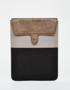 Asos, Ipad Sleeve, Gift Guide, Holiday Gifts, Fashion Online, Wallet, Canvas, Sleeves, Leather