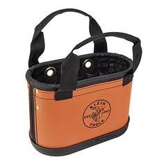 Klein Tools 5144HBS Hard Body Oval Bucket with Sheath