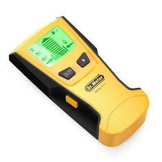 [Multi-Scanner Stud Finder] Dr.meter Stud Wall Sensor Finder Center-Finding with Live AC Wire Wood Scanner Warning Detection
