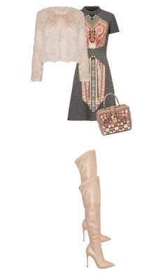 """""""Girl"""" by thestoryofnewyorklovin ❤ liked on Polyvore featuring Casadei and Dolce&Gabbana"""