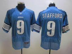 99ac410ff 2012 nike Detroit Lions  9 Matthew Stafford blue Jerseys Detroit Lions