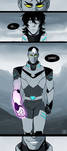 Shiro...? by Edoween on DeviantArt <<< oh hello operator. Yes I want to join in on the suffering