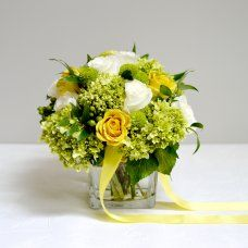 Classic hand-tied arrangement
