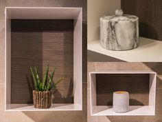 Showoff - lekre, minimalistiske hyller, som passer perfekt på badet! #flisekompaniet