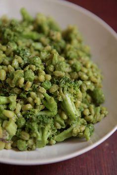 Mais um livro e um arroz verde / Arroz verde com maionese de abacate e manjericão
