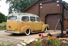 Chevrolet 3100, Chevrolet Suburban, Chevrolet Trucks, Gmc Trucks, Cool Trucks, Station Wagon, Classic Chevy Trucks, Classic Cars, Custom Pickup Trucks