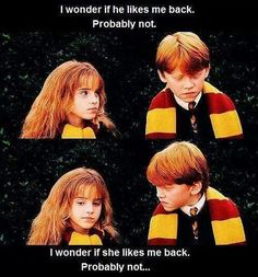 Aw Ron and Hermione