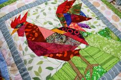Running With Scissors: Mom Feature: Chicken Quilt