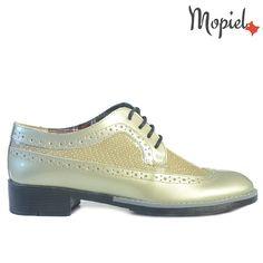 Pantofi dama din piele naturala 23520/Lac-Kaky/Stephanew