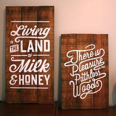 Works on Wood by Lisa Nicole