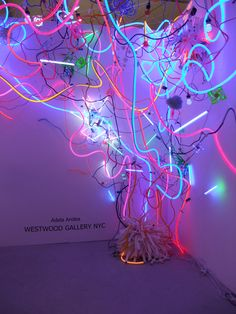 itscontemporary:  Adela Andea - Untitled (2011) Neon Sculpture                                                                                                                                                                                 More