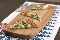 Cauliflower Crust Thai Pizza by @Tessa Arias