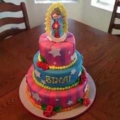 Virgencita plis cake