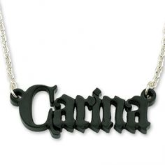 Personalize Acrylic Black Castle Name Necklace Cheap Valentines Day Ideas, Mens Valentines Day Gifts, Romantic Valentines Day Ideas, Alphabet Necklace, Name Necklace, Black Castle, Letter Pendants, Black Diamond, Gifts For Her