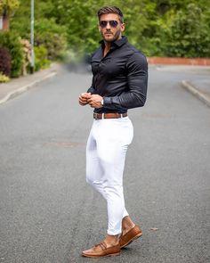 fashion dress socks, mens fashion music, mens fashion cheap fashion boots, men's fashion advice for over men's fashion casual belts, cheap men's fashion clothing uk size. Black Outfit Men, Formal Men Outfit, White Pants Outfit Mens, Casual Wear, Men Formal, Blazer Outfits Men, Stylish Mens Outfits, Prada Outfits, Men's Outfits
