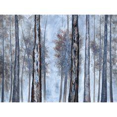Winter Woods Canvas Wall Art