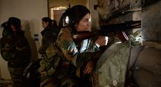 Ruwaida, de profesora de universidad a francotiradora de las Fuerzas de Defensa Nacional de Siria – Sitio de Al Manar en Español