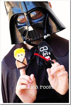 Star Wars Finger Puppet Patterns
