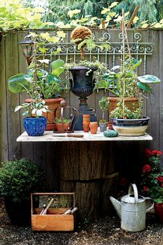The Ultimate Entertaining Garden: Outdoor Gardening Bench