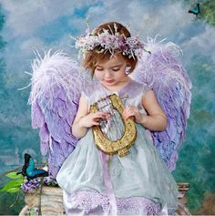 Que bella esta presencia angelical
