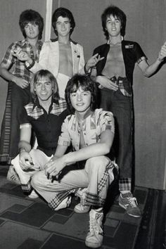 70's BAND --- THE BAY CITY ROLLERS!!! all the way from Scotland no less!