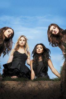 Pretty Little Liars....a guilty pleasure of mine. I wait every week to find out who A is. Just tell me already!