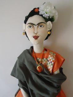 Frida cloth doll...by Ruiy Moura