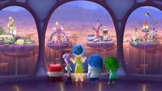 """Disgust is shaped like a piece of broccoli. 