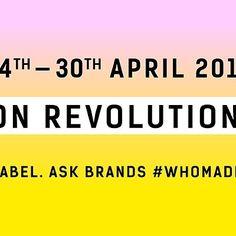 FASHION REVOLUTION GÜNÜMÜZ KUTLU OLSUN! Bugün Bengladeş'te Rana Plaza fabrikasının 1134 kişinin ölümüyle sonuçlanan yıkılmasının yıldönümü. Her yıl bu günü içerisine alan bir hafta boyunca dünyanın  4 bir yanında insanlar modanın gücünü kullanarak dünyayı değiştirmek uzere bir araya geliyor. Daha guvenli temiz şeffaf ve sorumlu bir moda sektörü talep ediyoruz   #fashionrevolution #gununkaresi #instaturkey #instaturkiye