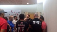 A realizar o briefing com os treinadores do evento IPC8. Coaches briefing before the IPC8 event #CAPMMA