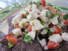 Simple Halibut Ceviche... I have made this numerous times and its delectable each time!