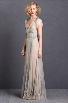 aiguille gown by BHLDN