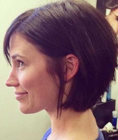 simple short haircuts for round faces 2016 - style you 7