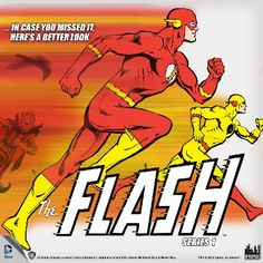 Figures Toy Company Announces New Flash Series 1 Figures!