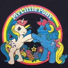 Original My Little Pony, Vintage My Little Pony, 80s Cartoon Shows, My Little Pony Tattoo, Filly, Little Poney, Rainbow Brite, Indie Kids, Vintage Cartoon